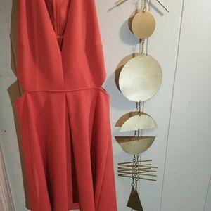 Coral/Peach Express summer dress!